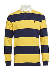 The Iconic Rugby Shirt - GOLD BUGLE/ NEWPO
