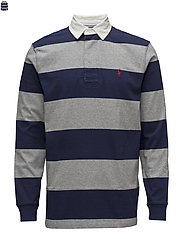The Iconic Rugby Shirt - NEWPORT NAVY/LEAG
