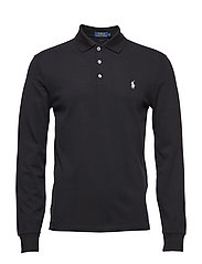 LSKCSLMM4-LONG SLEEVE-KNIT - POLO BLACK