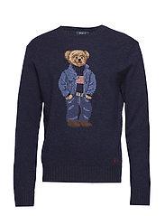 Polo Bear Sweater - NAVY