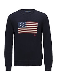 The Iconic Flag Sweater - NAVY