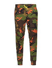 Performance Camo Jogger Pant - ORANGE CAMO MULTI