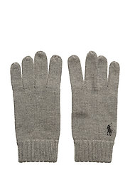MERINO WOOL-GLV - FAWN GREY HEATHER
