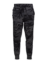 Camo Cotton-Blend Jogger - CHARCOAL RL CAMO