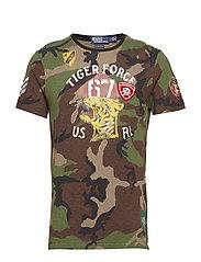 Custom Slim Fit Cotton T-Shirt - SURPLUS CAMO