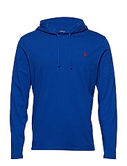 Cotton Jersey Hooded T-Shirt - CRUISE ROYAL