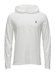Cotton Jersey Hooded T-Shirt - WHITE