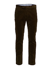Stretch Slim Fit Corduroy Pant - COMPANY OLIVE