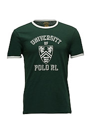 Short Sleeve-T-Shirt - COLLEGE GREEN/DEC