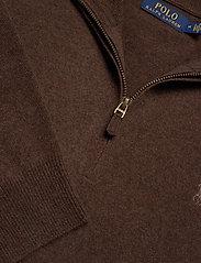 Polo Ralph Lauren - LS HZ PP-LONG SLEEVE-SWEATER - turtlenecks - brown heather - 2