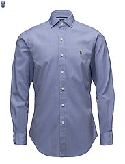 Slim Fit Oxford Shirt - 2558A BLUE/WHITE