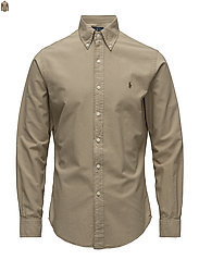 Slim Fit Oxford Shirt - SURREY TAN