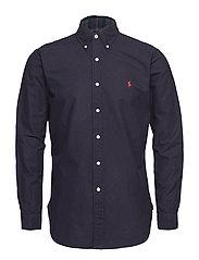 Long Sleeve Oxford Shirt - RL NAVY