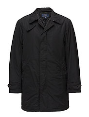 Water-Repellent Coat - POLO BLACK