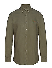 Polo Ralph Lauren Classic Fit Oxford Shirt - SERVICE GREEN