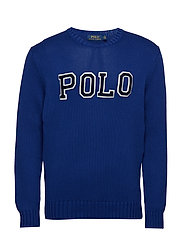 Cotton Crewneck Sweater - HERITAGE ROYAL/NA