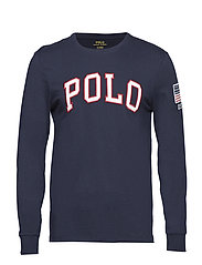 Long Sleeve-T-Shirt - AVIATOR NAVY