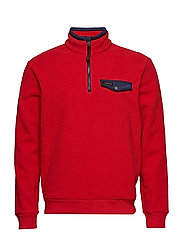Fleece Half-Zip Pullover - RL 2000 RED