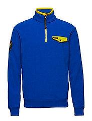 Fleece Half-Zip Pullover - SAPPHIRE STAR