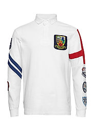 Classic Fit Cotton Rugby Shirt - CLASSIC OXFORD WH