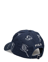 f2d4ea7a5dd Preppy-print Baseball Cap (Aviator Navy W  P) (499 kr) - Polo Ralph ...