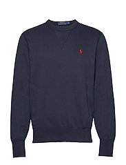 Cotton-Blend-Fleece Sweatshirt - AVIATOR NAVY