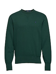 Cotton-Blend-Fleece Sweatshirt - COLLEGE GREEN