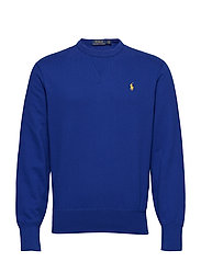 Cotton-Blend-Fleece Sweatshirt - HERITAGE ROYAL