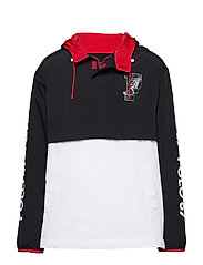 P2 PULLOVER-LINED-JACKET - POLO BLACK/ WHITE