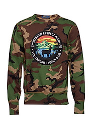 Camo Cotton-Blend Sweatshirt