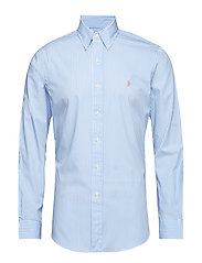 Slim Fit Gingham Cotton Shirt - 3012D POWDER BLUE