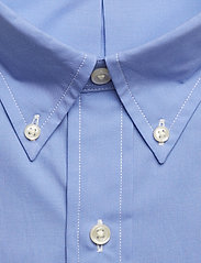 Slim Fit Gingham Cotton Shirt - PERIWINKLE BLUE