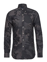Slim Fit Oxford Shirt - 3151 SURPLUS CAMO