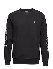 LS CN M17-LONG SLEEVE-KNIT - POLO BLACK