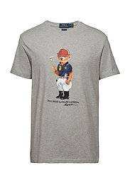 Classic Fit Polo Bear T-Shirt - ANDOVER HEATHER