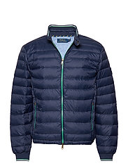LIGHT WEIGHT PACKABLE DOWN JACKET - FRENCH NAVY