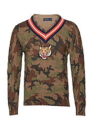 LS CRICKETVN-LONG SLEEVE-SWEATER - CAMO MULTI