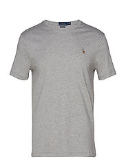 Custom Slim Soft Cotton Tee - ANDOVER HEATHER