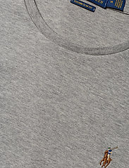 Polo Ralph Lauren - Custom Slim Fit Interlock Tee - short-sleeved t-shirts - andover heather - 2