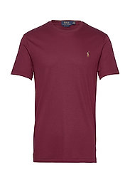 Custom Slim Soft Cotton Tee - CLASSIC WINE