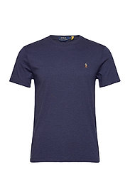 Custom Slim Soft Cotton Tee - SPRING NAVY HEATH