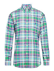 BD PP PKT SP-LONG SLEEVE-SPORT SHIRT - 3304 EMERALD/NAVY
