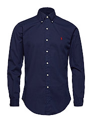 SL BD PPC SP-LONG SLEEVE-SPORT SHIRT - NEWPORT NAVY