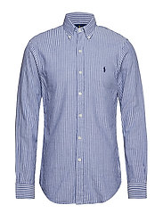 SL BD PPCSPT-LONG SLEEVE-SPORT SHIRT - 3361 BAR BLUE/WIN