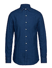 SL SPR ESTSP-LONG SLEEVE-SPORT SHIRT - 3340 INDIGO/BLUE