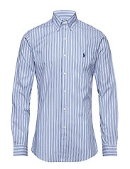 SL BD PPC SP-LONG SLEEVE-SPORT SHIRT - 3300A CABANA BLUE