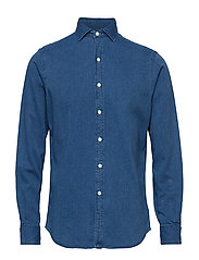 SPR BRWNSTN-LONG SLEEVE-SPORT SHIRT - 3359 INDIGO