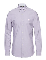 Slim Fit Gingham Oxford Shirt