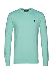 LS SF CN PP-LONG SLEEVE-SWEATER - BAYSIDE GREEN HEA