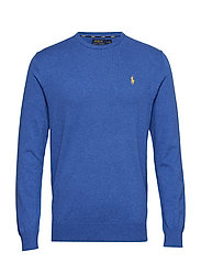 LS SF CN PP-LONG SLEEVE-SWEATER - DOCKSIDE BLUE HEA